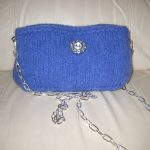 Sabrina Bag 3 - notice the long chain and can be made into a double chain