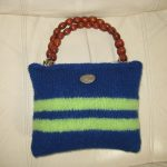 Sophie Bag 2 - Small bag with beaded handle, sure to accent any outfit.