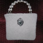 Sophie Bag - Small bag with beaded handle just the right size for an evening out