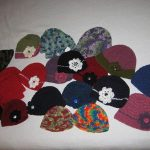 Bow hats - 4 - a sample of the many colors