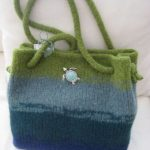 Grace Bag - Tri colored bag, perfect size and ready to go