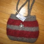 Mickey Bag - Crimson and Gray my high school colors