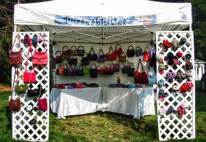 Purseabilities are available at craft shows throughout Connecticut, at private functions, and select retailers.